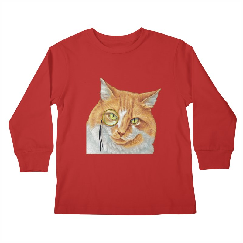 Captain Cat Kids Longsleeve T-Shirt by richgrote's Shop