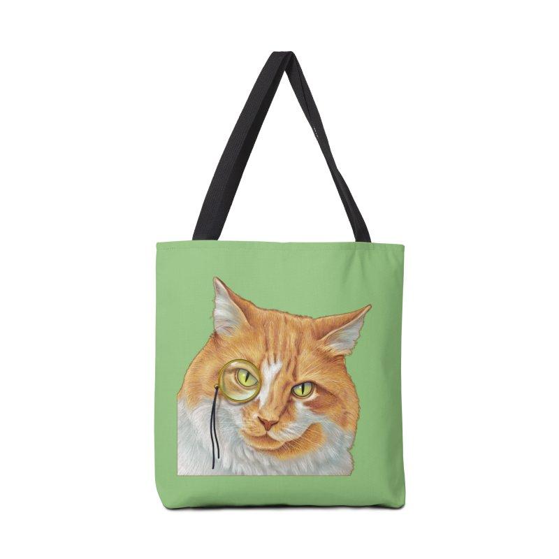 Captain Cat Accessories Bag by richgrote's Shop