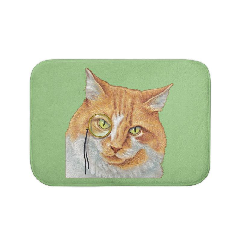 Captain Cat Home Bath Mat by richgrote's Shop