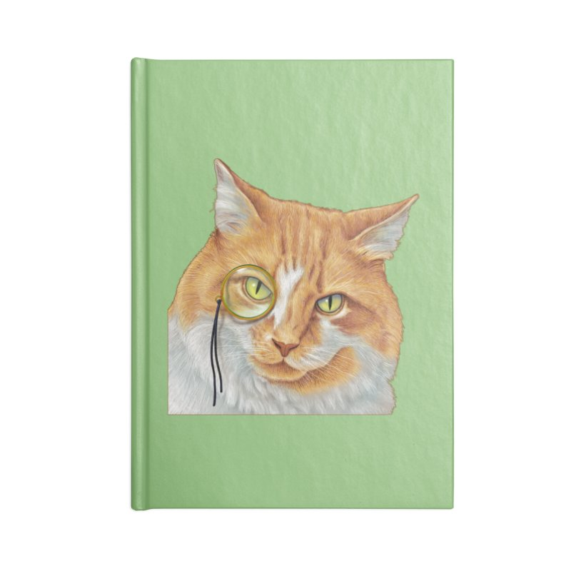Captain Cat Accessories Notebook by richgrote's Shop