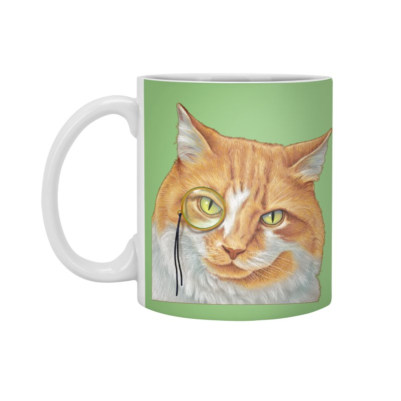 Captain Cat Accessories Mug by richgrote's Shop