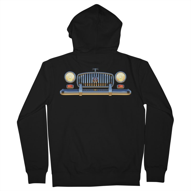 Frontend Grill 1 Men's Zip-Up Hoody by richgrote's Shop