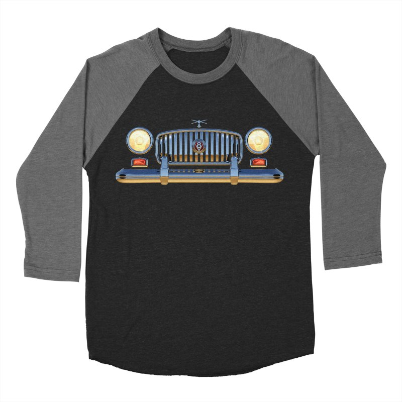 Frontend Grill 1 Men's Baseball Triblend T-Shirt by richgrote's Shop