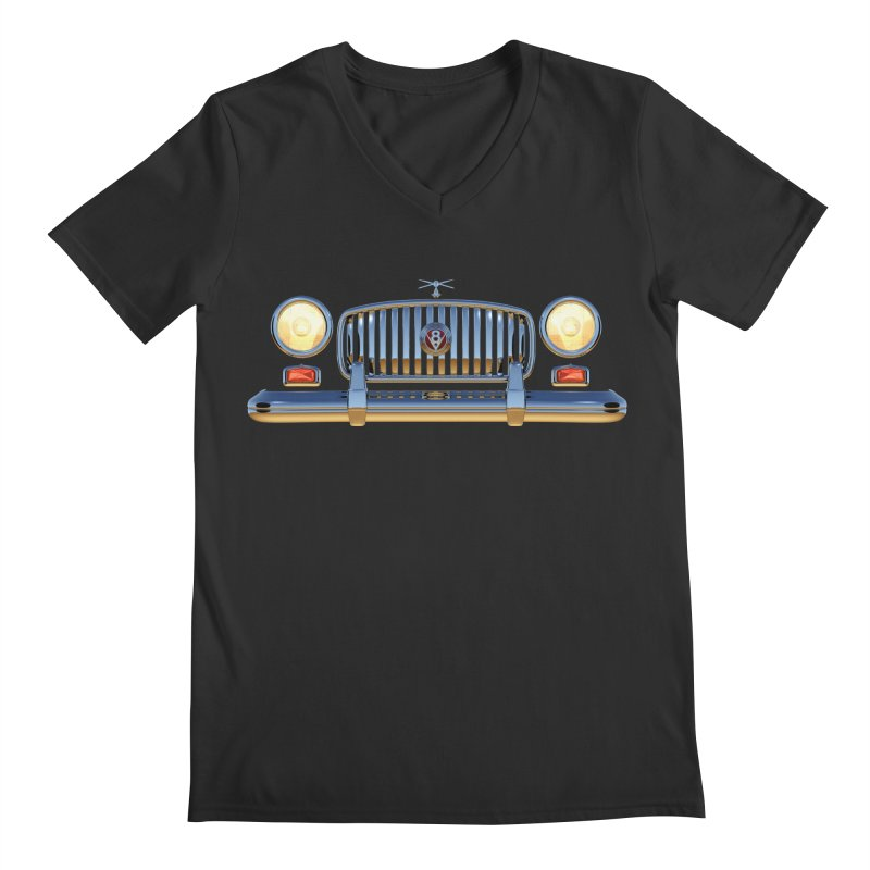 Frontend Grill 1 Men's Regular V-Neck by richgrote's Shop