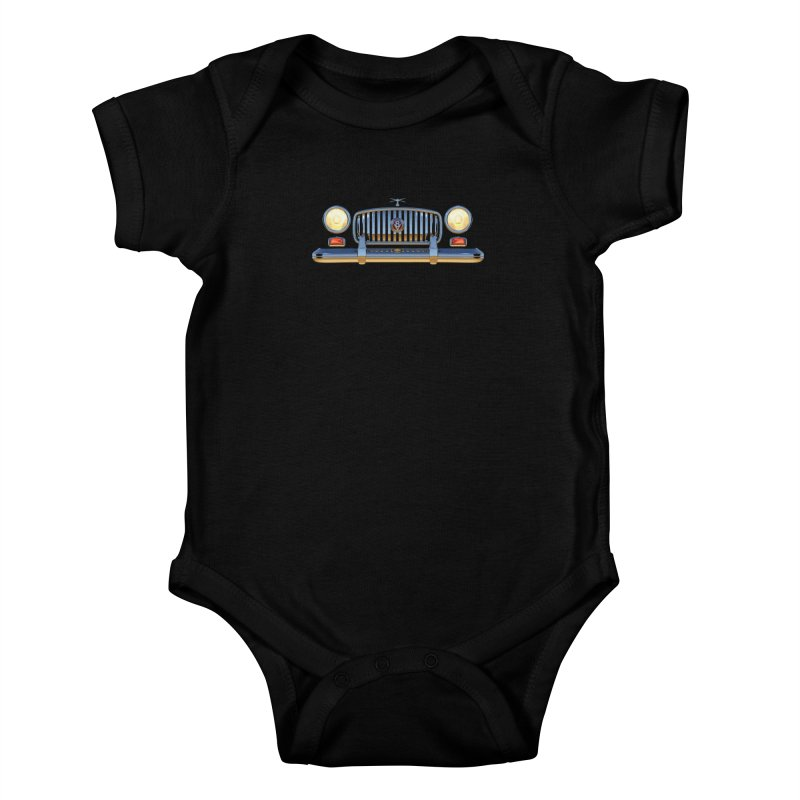 Frontend Grill 1 Kids Baby Bodysuit by richgrote's Shop