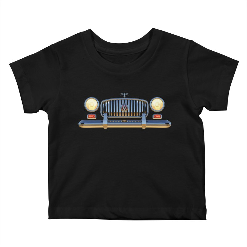 Frontend Grill 1 Kids Baby T-Shirt by richgrote's Shop