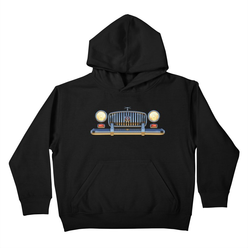 Frontend Grill 1 Kids Pullover Hoody by richgrote's Shop