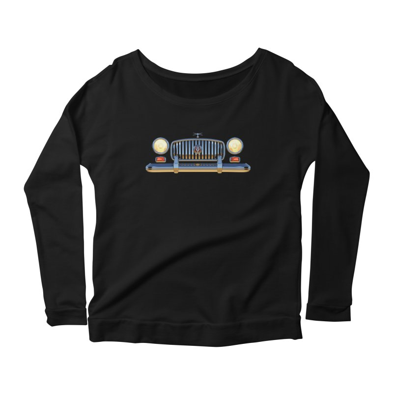 Frontend Grill 1 Women's Longsleeve Scoopneck  by richgrote's Shop