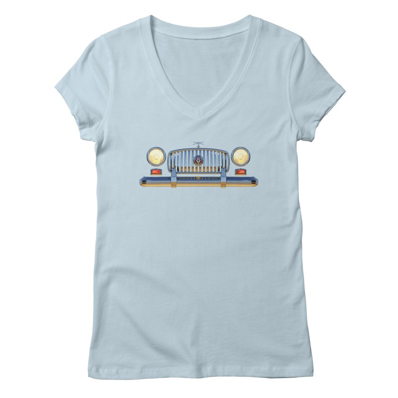 Frontend Grill 1 Women's Regular V-Neck by richgrote's Shop