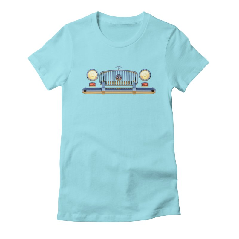 Frontend Grill 1 Women's Fitted T-Shirt by richgrote's Shop