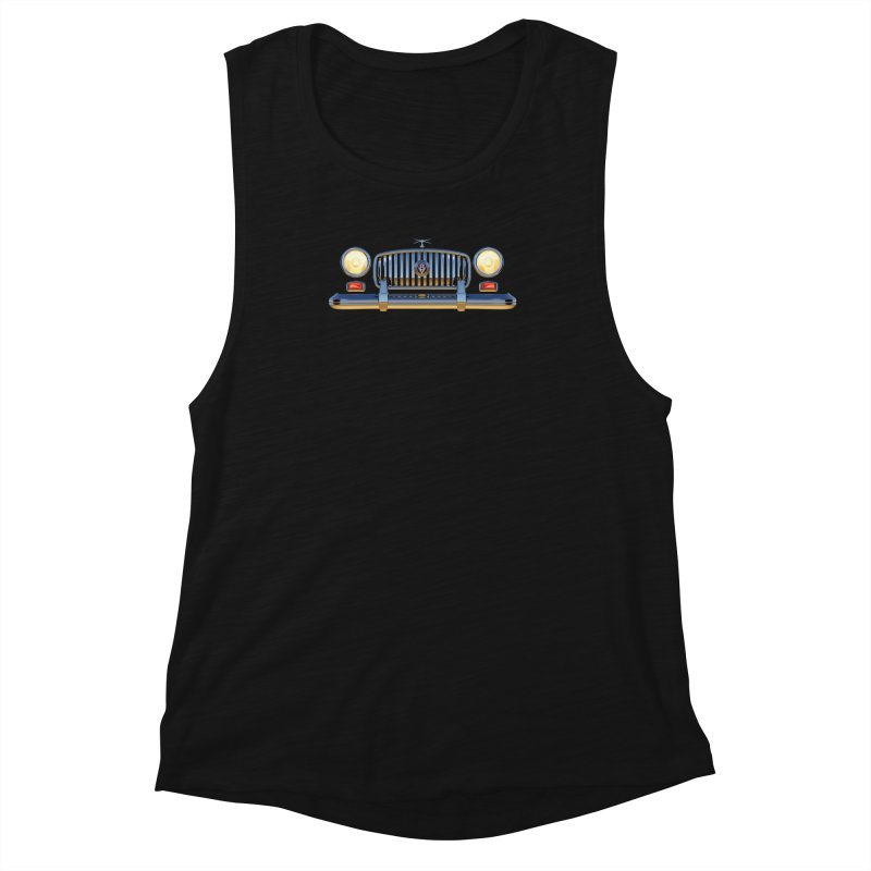 Frontend Grill 1 Women's Muscle Tank by richgrote's Shop