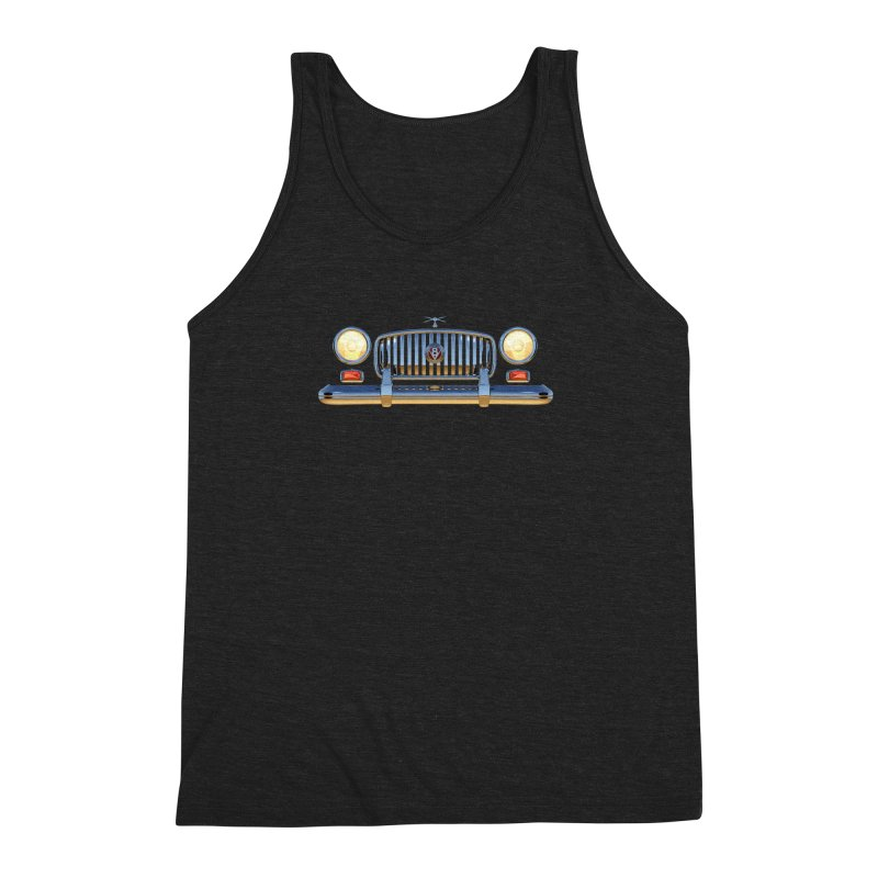 Frontend Grill 1 Men's Triblend Tank by richgrote's Shop