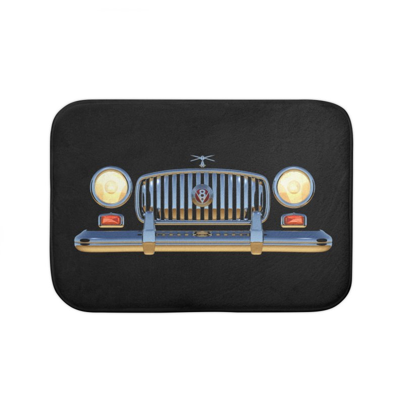 Frontend Grill 1 Home Bath Mat by richgrote's Shop