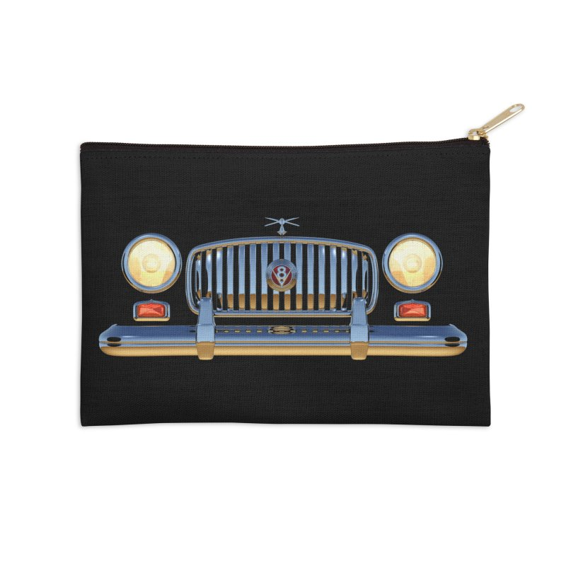 Frontend Grill 1 Accessories Zip Pouch by richgrote's Shop