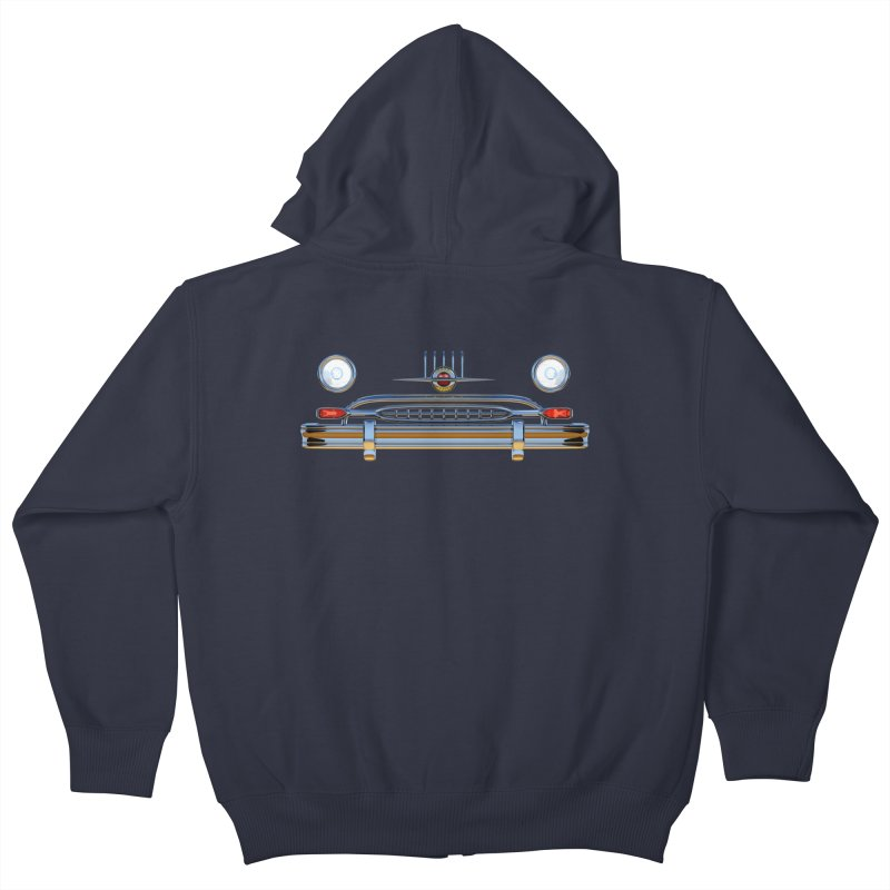 Frontend Grill 2 Kids Zip-Up Hoody by richgrote's Shop