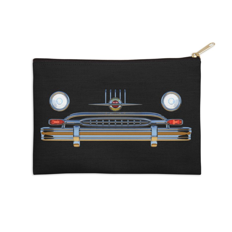 Frontend Grill 2 Accessories Zip Pouch by richgrote's Shop