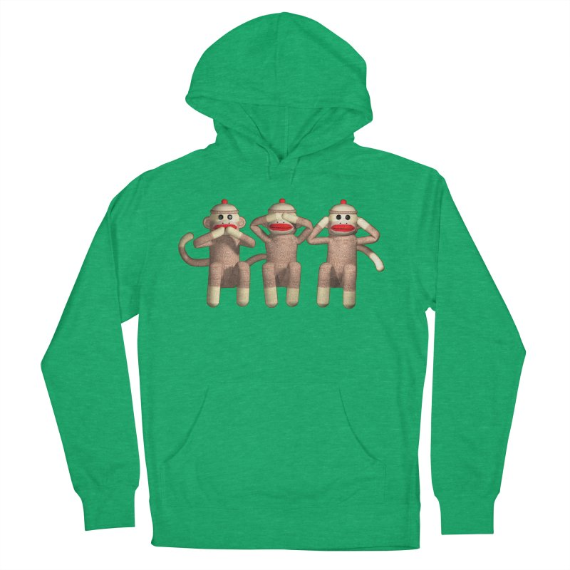 Sock Monkies SSH Women's French Terry Pullover Hoody by richgrote's Shop
