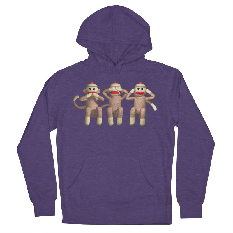 Sock Monkies SSH Men's Pullover Hoody by richgrote's Shop