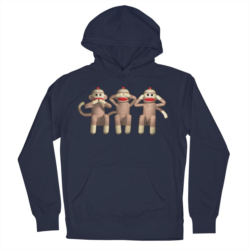 Sock Monkies SSH Men's French Terry Pullover Hoody by richgrote's Shop