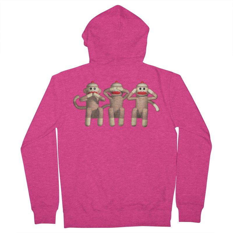 Sock Monkies SSH Women's Zip-Up Hoody by richgrote's Shop