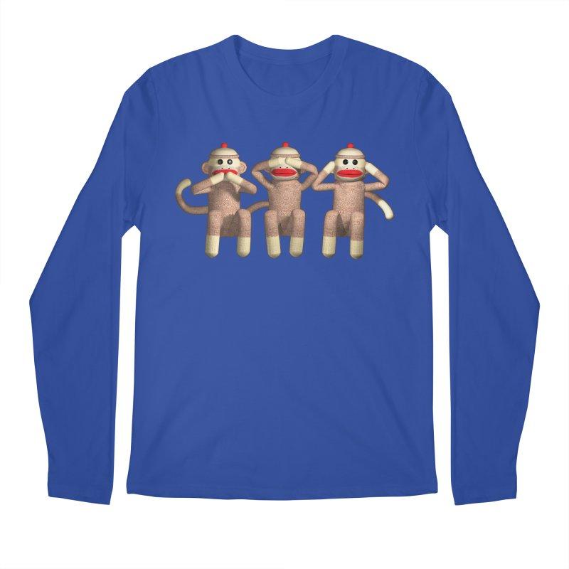 Sock Monkies SSH Men's Longsleeve T-Shirt by richgrote's Shop