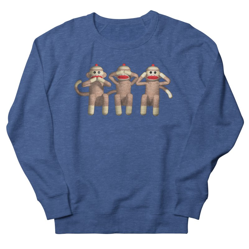 Sock Monkies SSH Women's French Terry Sweatshirt by richgrote's Shop