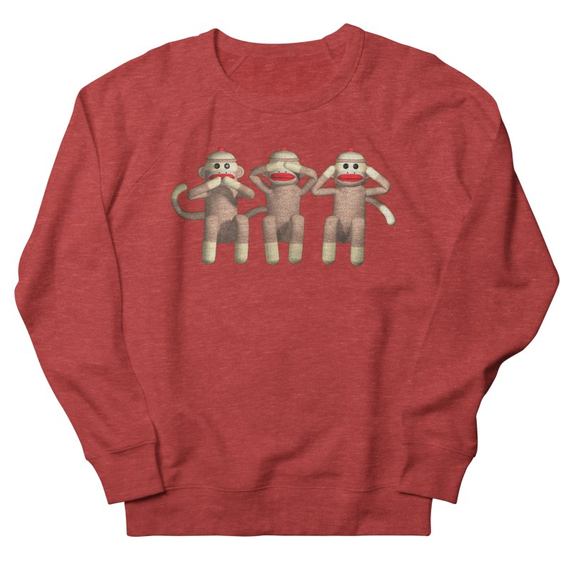 Sock Monkies SSH Men's French Terry Sweatshirt by richgrote's Shop