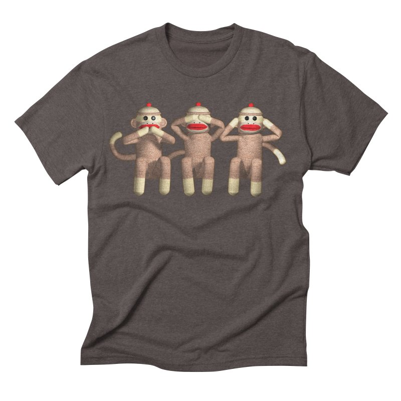 Sock Monkies SSH Men's Triblend T-shirt by richgrote's Shop