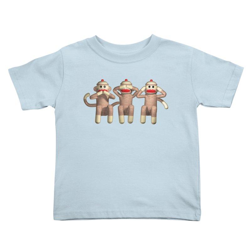 Sock Monkies SSH Kids Toddler T-Shirt by richgrote's Shop