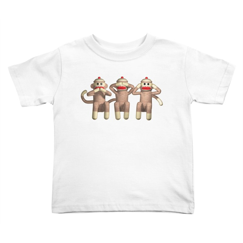 Sock Monkies SSH Kids Toddler T-Shirt by richgrote's Shop
