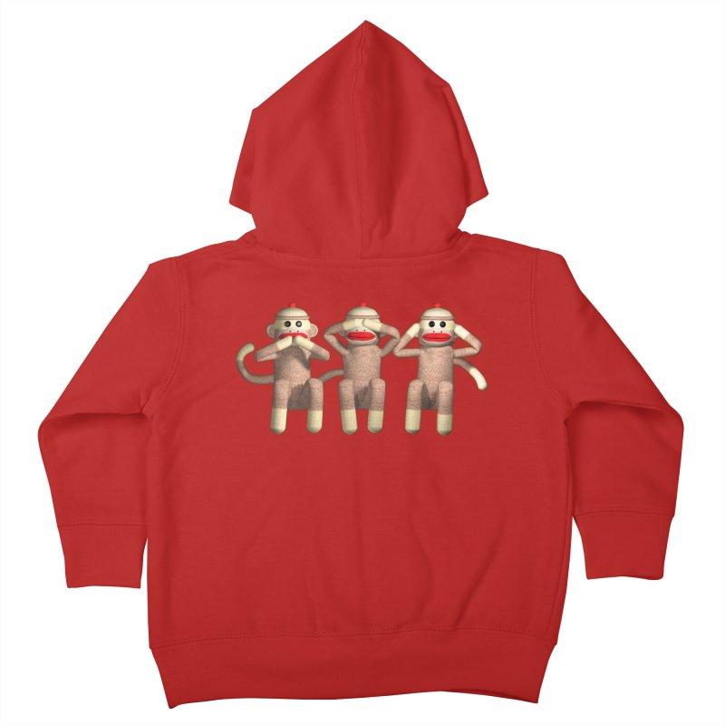 Sock Monkies SSH Kids Toddler Zip-Up Hoody by richgrote's Shop