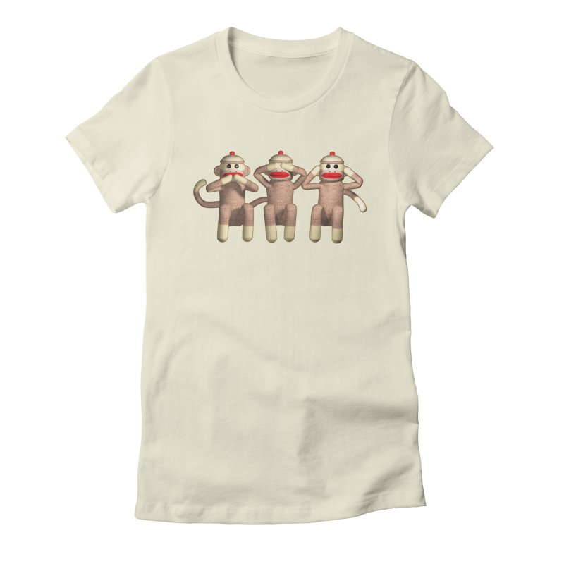 Sock Monkies SSH Women's Fitted T-Shirt by richgrote's Shop