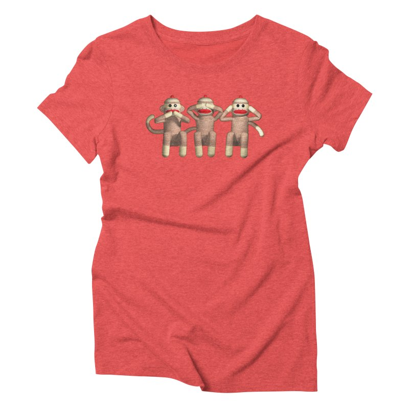 Sock Monkies SSH Women's Triblend T-Shirt by richgrote's Shop