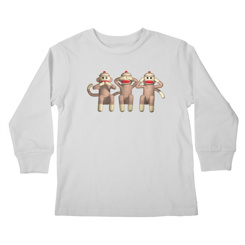 Sock Monkies SSH Kids Longsleeve T-Shirt by richgrote's Shop