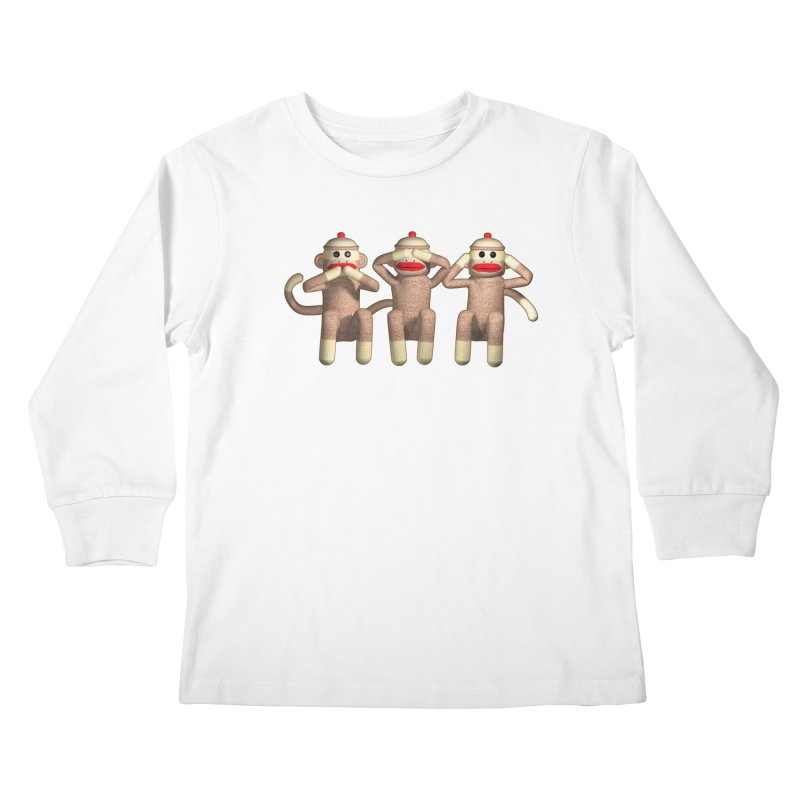 Sock Monkies SSH Kids Longsleeve T-Shirt by richgrote's Shop