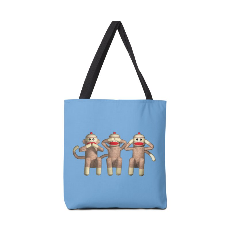 Sock Monkies SSH Accessories Bag by richgrote's Shop