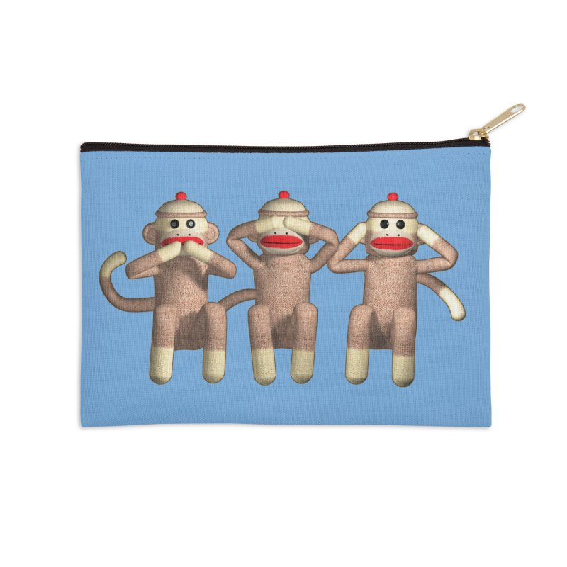 Sock Monkies SSH Accessories Zip Pouch by richgrote's Shop
