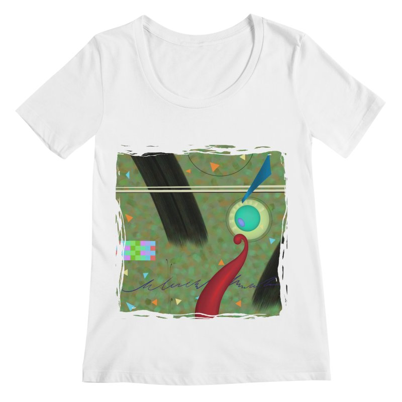 Dancing Clowns 24 Women's Scoopneck by richgrote's Shop