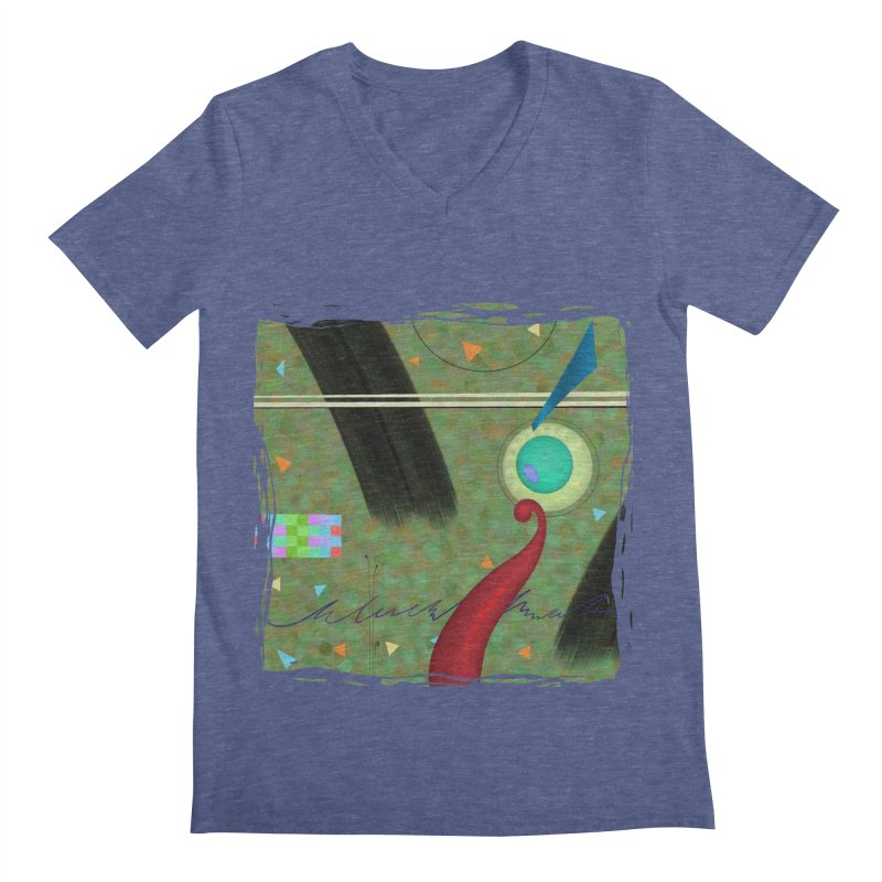 Dancing Clowns 24 Men's V-Neck by richgrote's Shop