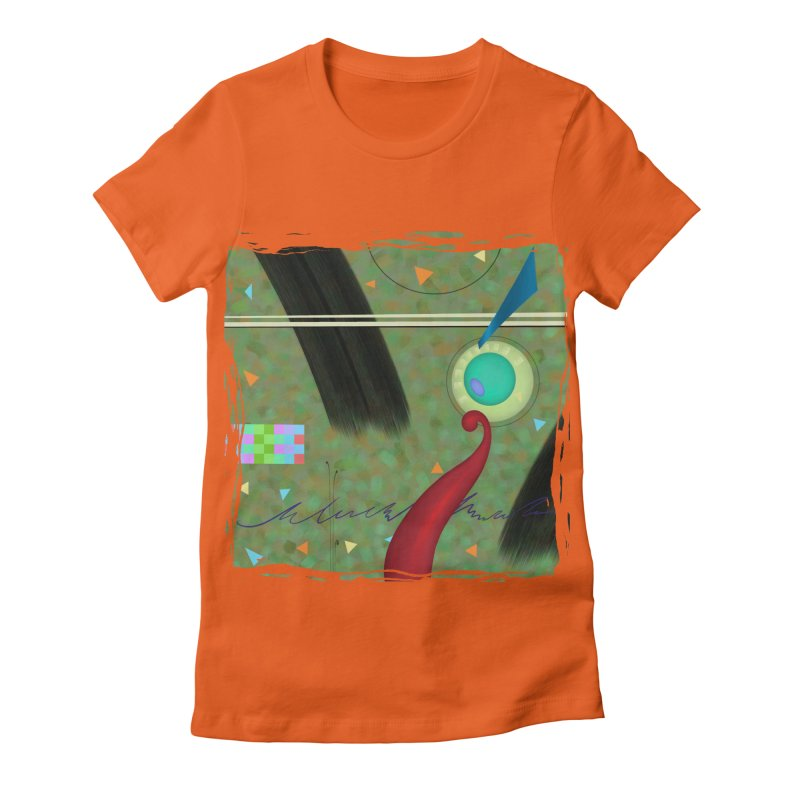 Dancing Clowns 24 Women's Fitted T-Shirt by richgrote's Shop