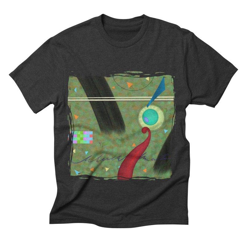 Dancing Clowns 24 Men's Triblend T-shirt by richgrote's Shop