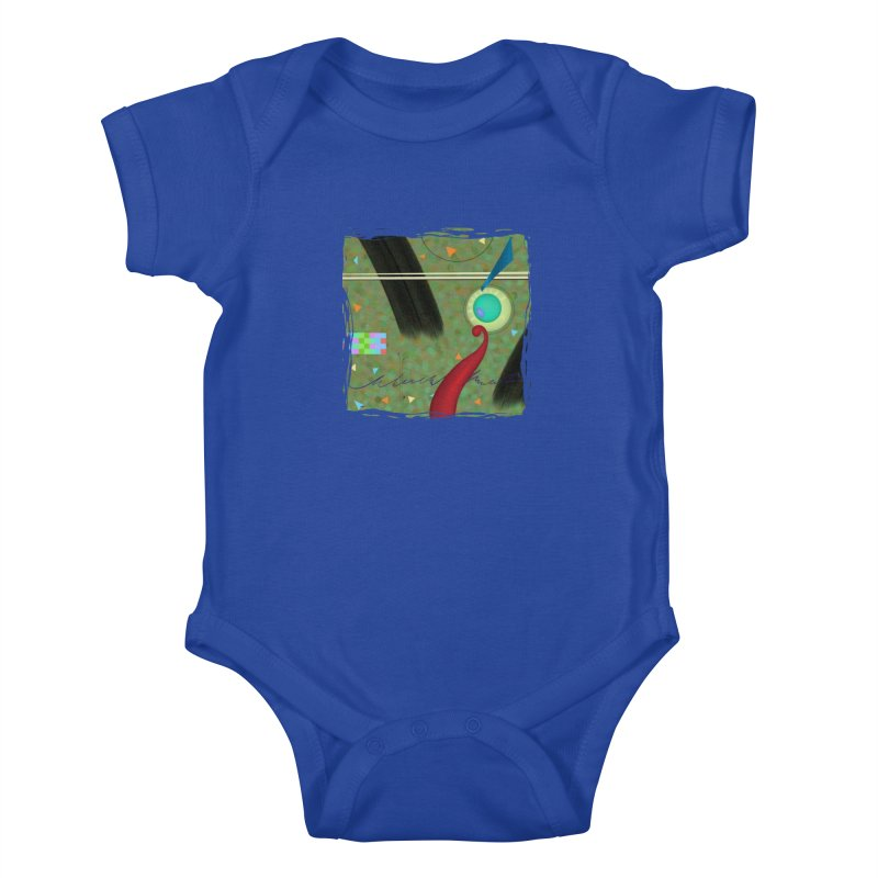 Dancing Clowns 24 Kids Baby Bodysuit by richgrote's Shop