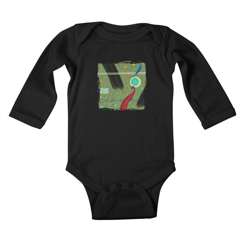 Dancing Clowns 24 Kids Baby Longsleeve Bodysuit by richgrote's Shop