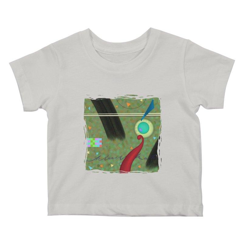 Dancing Clowns 24 Kids Baby T-Shirt by richgrote's Shop
