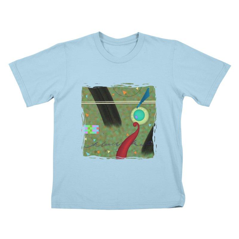Dancing Clowns 24 Kids T-Shirt by richgrote's Shop