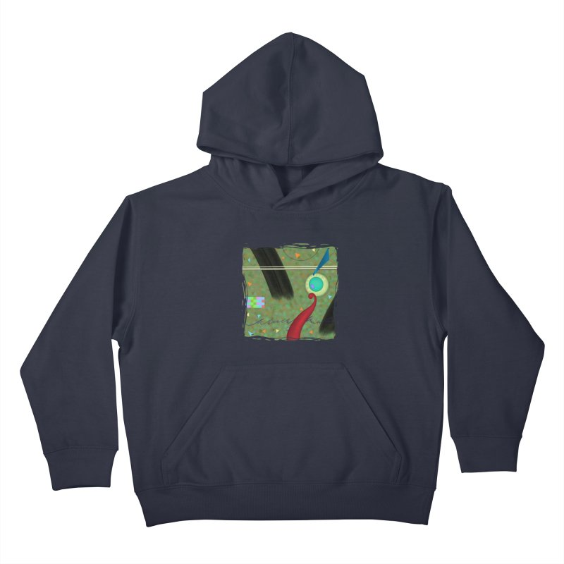 Dancing Clowns 24 Kids Pullover Hoody by richgrote's Shop