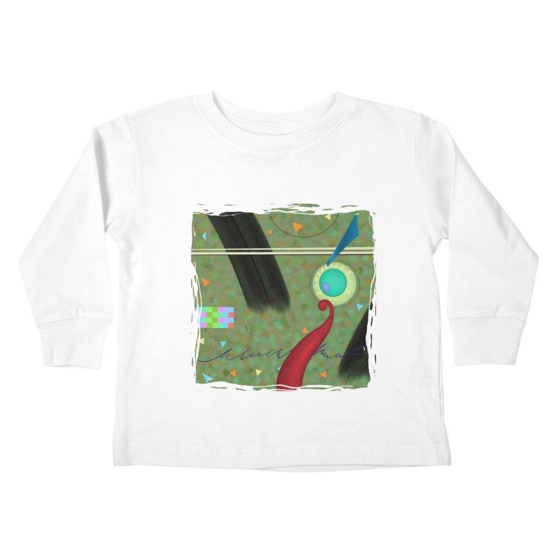 Dancing Clowns 24 Kids Toddler Longsleeve T-Shirt by richgrote's Shop
