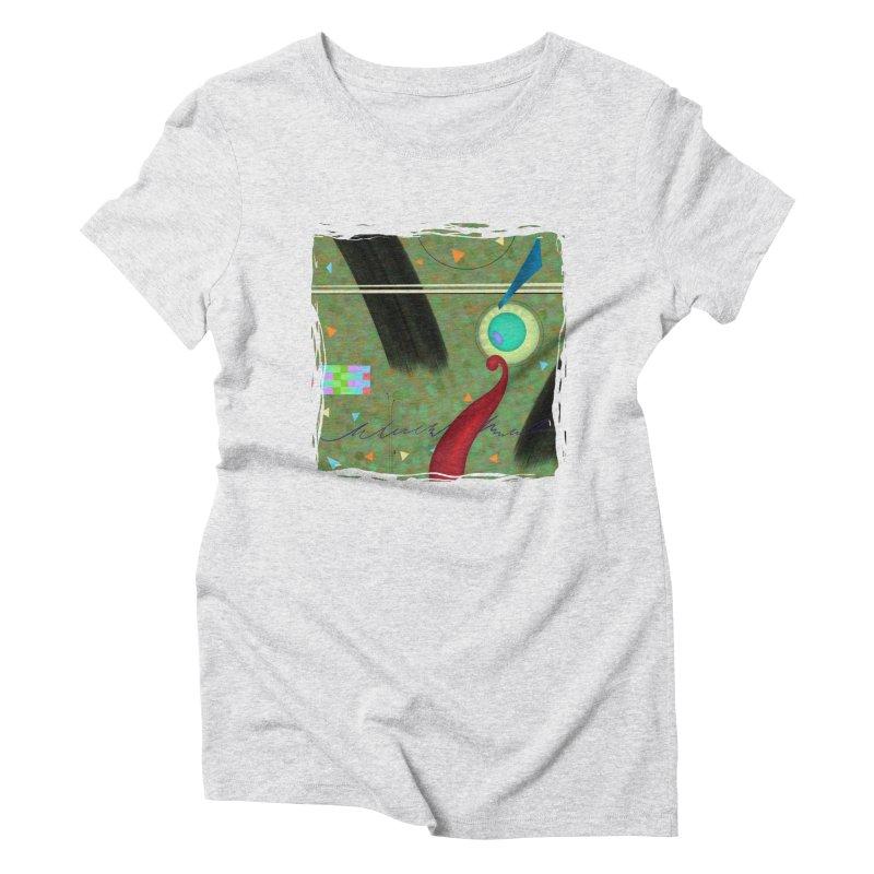 Dancing Clowns 24 Women's Triblend T-Shirt by richgrote's Shop