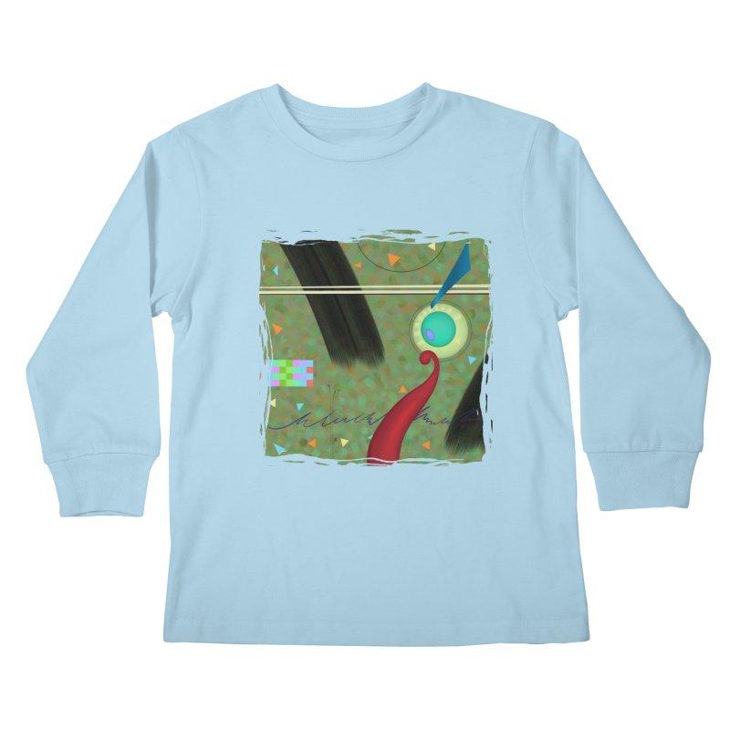Dancing Clowns 24 Kids Longsleeve T-Shirt by richgrote's Shop
