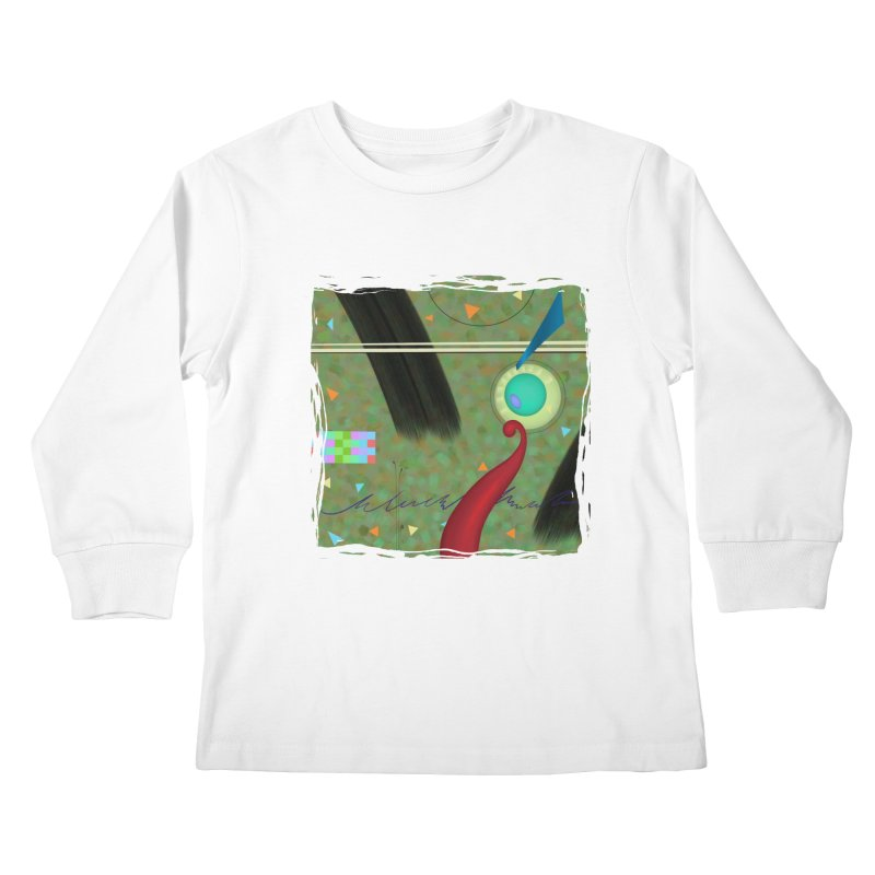 Dancing Clowns 24 Kids Longsleeve T-Shirt by richgrote's Shop